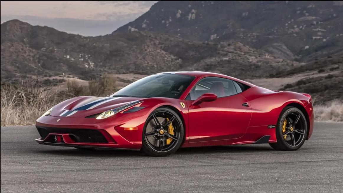 Ferrari blindada
